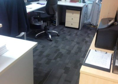 Carpet Tiles to Office
