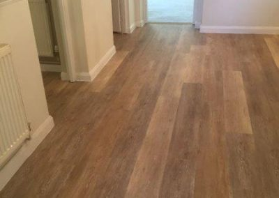 Domestic LVT and domestic carpets