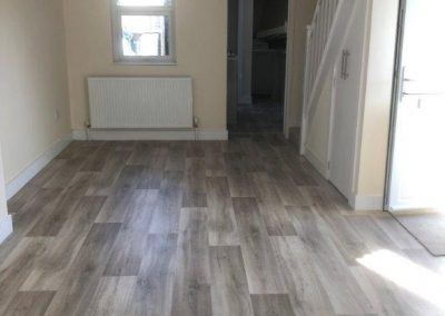 Domestic vinyl to a let rental property