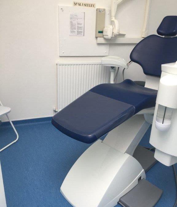 Medical Dental flooring CQC approved