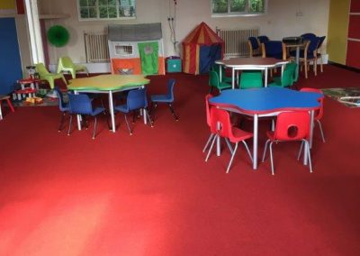 School Carpeting and Vinyl