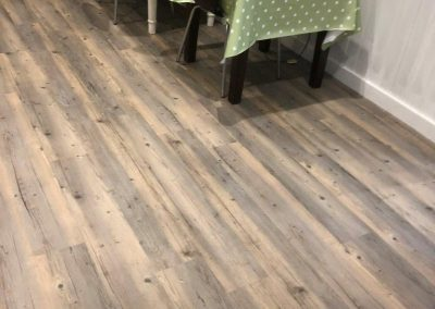 The Hutch Delicatessen in Ightham Commercial LVT