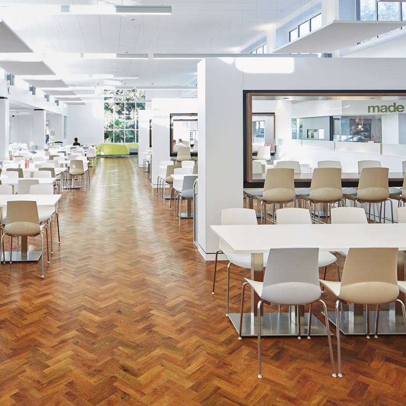 Commercial Karndean flooring